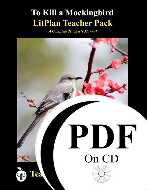 To Kill a Mockingbird LitPlan Lesson Plans (PDF on CD)