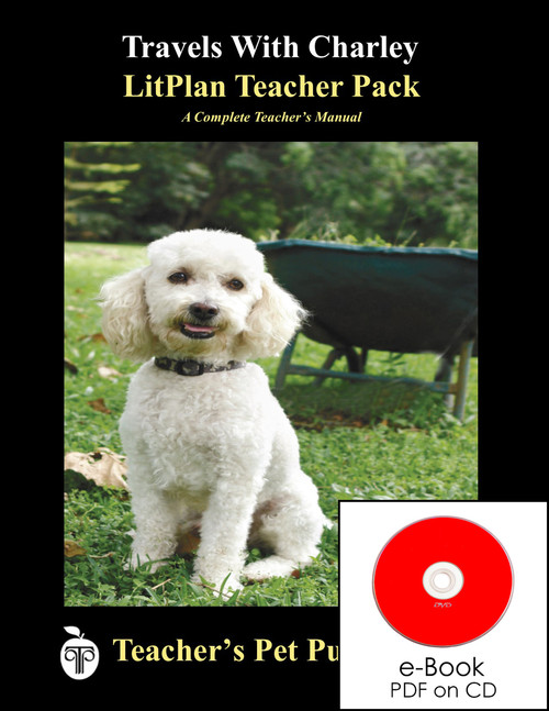 Travels With Charley Lesson Plans | LitPlan Teacher Pack on CD