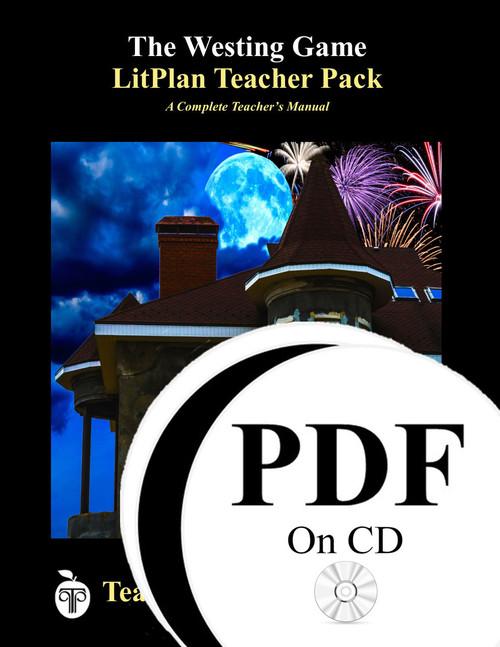 The Westing Game LitPlan Lesson Plans (PDF on CD)