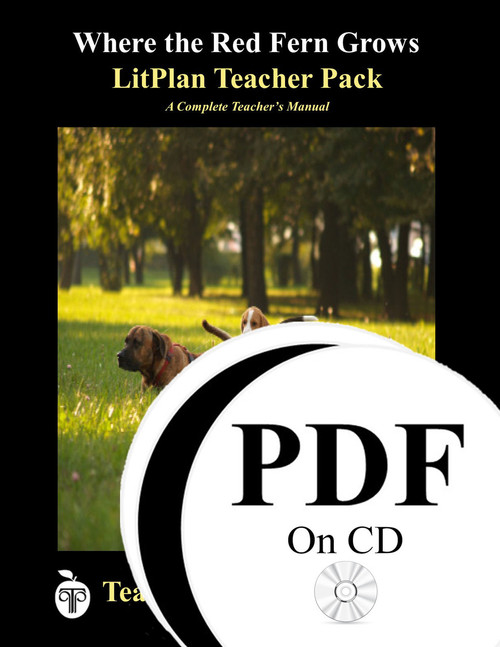 Where the Red Fern Grows LitPlan Lesson Plans (PDF on CD)