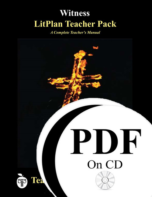 Witness LitPlan Lesson Plans (PDF on CD)