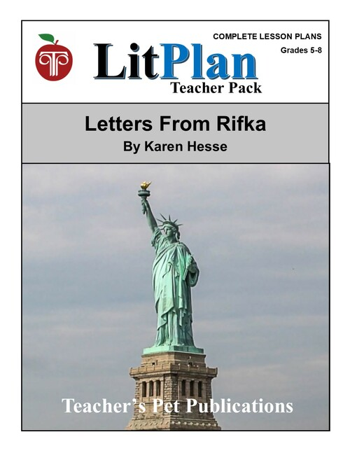 Letters From Rifka LitPlan Lesson Plans (Download)