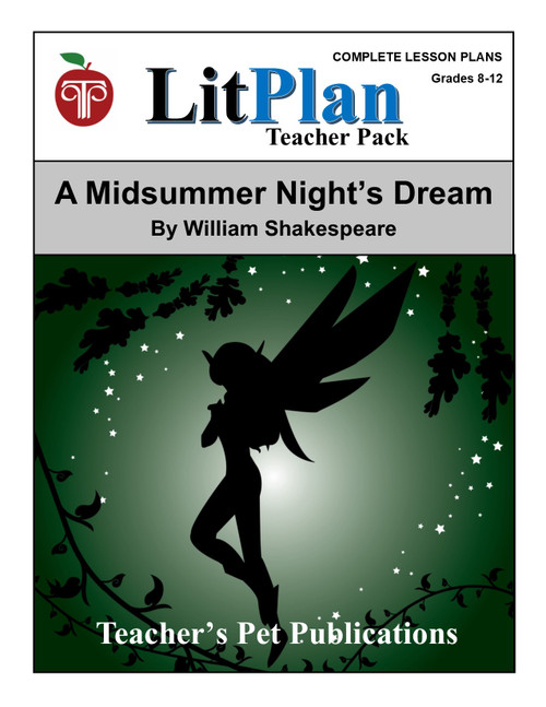 A Midsummer Night's Dream LitPlan Lesson Plans (Download)