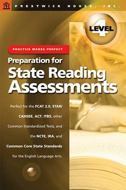 Practice Makes Perfect Prep For State Reading Assessments Grade 4
