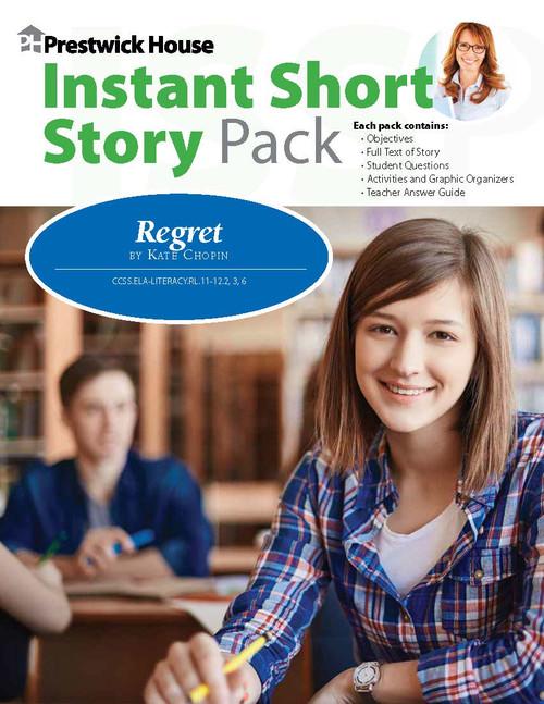 Regret Instant Short Story Text & Lesson Plans