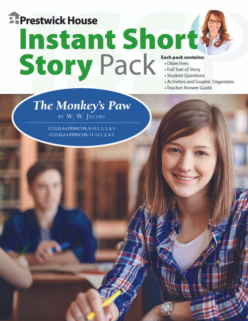 The Monkey's Paw Instant Short Story Text & Lesson Plans