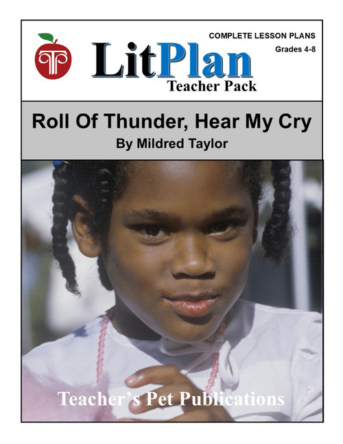 Roll of Thunder Hear My Cry LitPlan Lesson Plans (Download)
