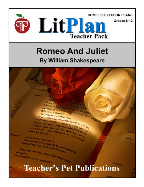 Romeo and Juliet LitPlan Lesson Plans (Download)
