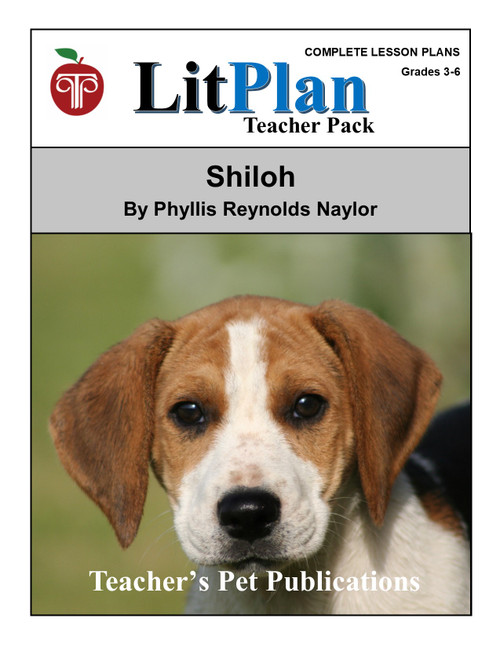 Shiloh LitPlan Lesson Plans (Download)