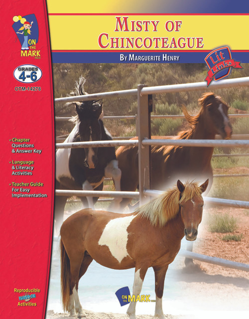 Misty Of Chincoteague: Lit Links Literature Guide
