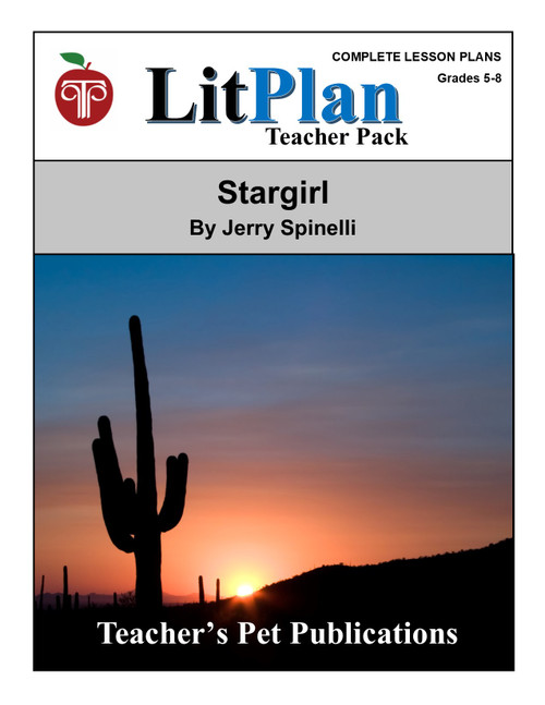 Stargirl LitPlan Lesson Plans (Download)