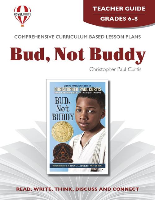 Bud Not Buddy Novel Unit Teacher Guide