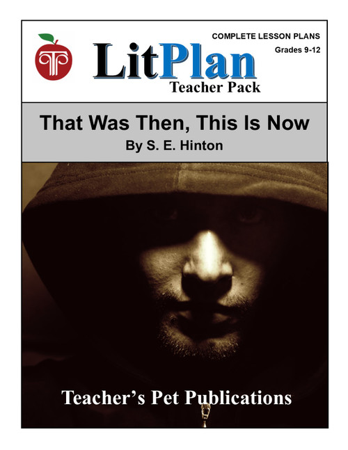 That Was Then This Is Now Lesson Plans | LitPlan Teacher Pack