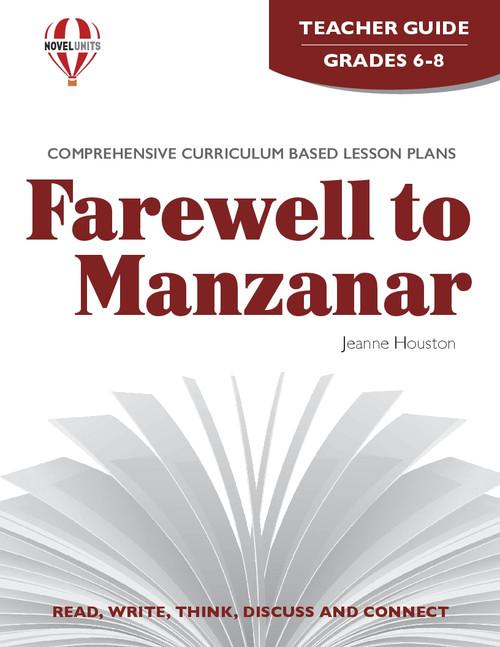Farewell to Manzanar Novel Unit Teacher Guide