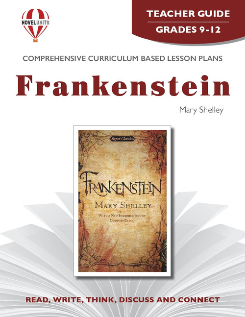 Frankenstein Novel Unit Teacher Guide
