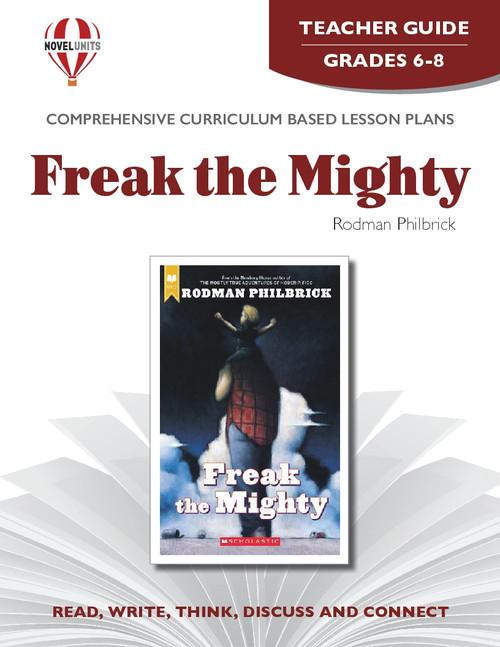 Freak The Mighty Novel Unit Teacher Guide