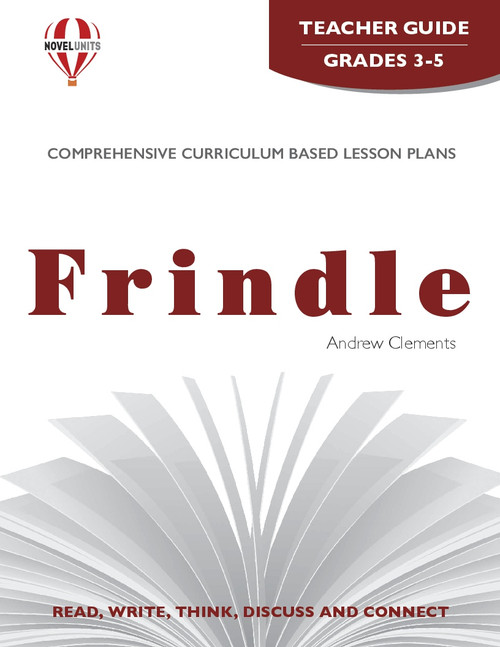 Frindle Novel Unit Teacher Guide
