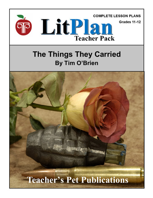The Things They Carried Lesson Plans   LitPlan Teacher Pack  (download)
