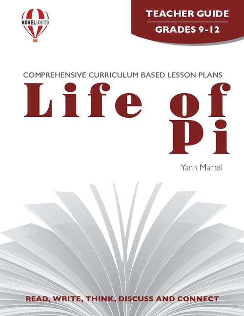 Life Of Pi Novel Unit Teacher Guide