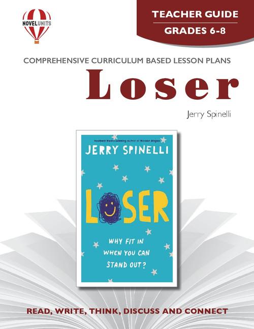 Loser Novel Unit Teacher Guide
