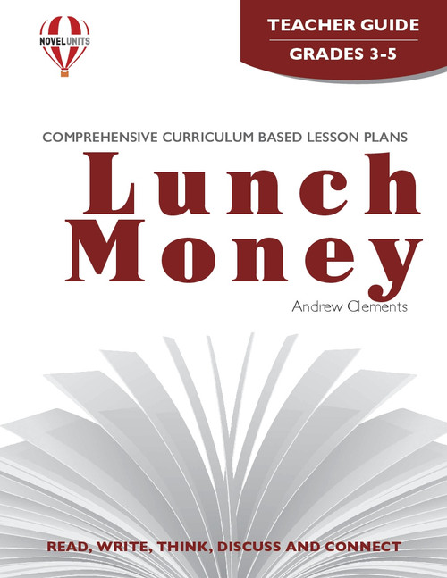 Lunch Money Novel Unit Teacher Guide