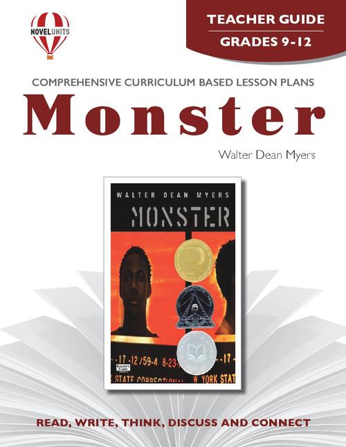 Monster Novel Unit Teacher Guide
