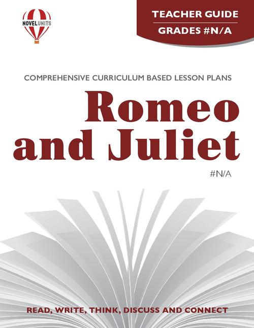 Romeo And Juliet Novel Unit Teacher Guide