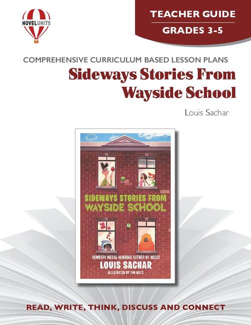 Sideways Stories From Wayside School Novel Unit Teacher Guide