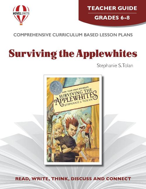 Surviving The Applewhites Novel Unit Teacher Guide