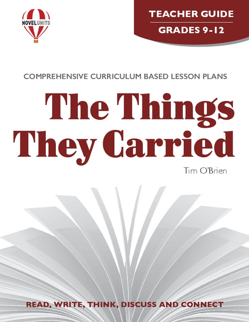 The Things They Carried Novel Unit Teacher Guide (PDF)