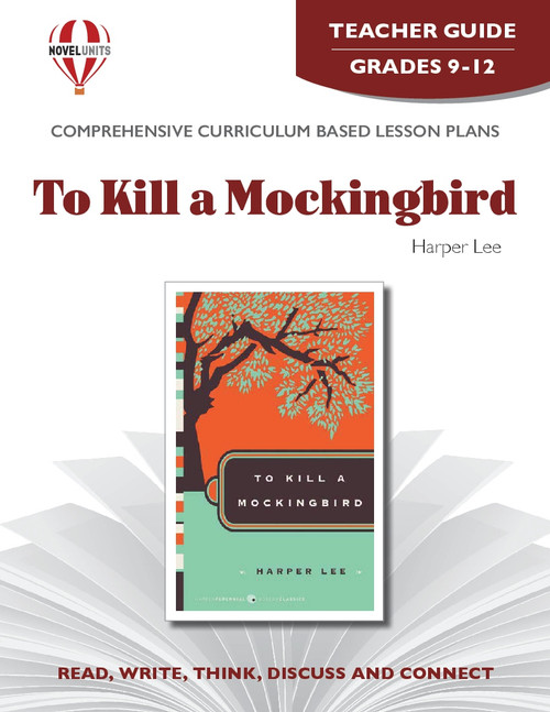 To Kill A Mockingbird Novel Unit Teacher Guide (PDF)
