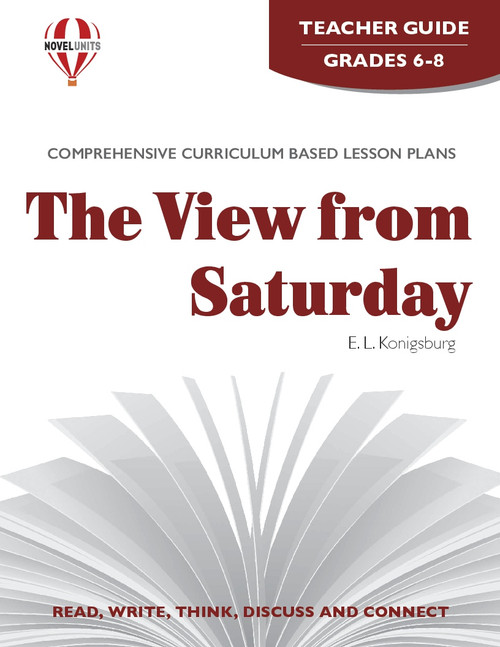 The View From Saturday Novel Unit Teacher Guide (PDF)