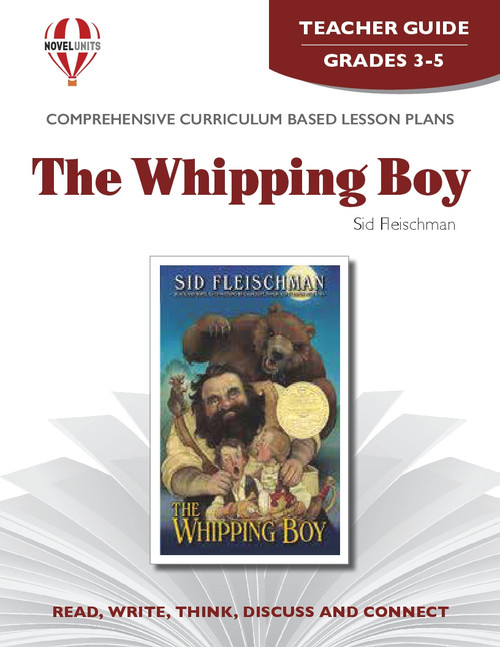 The Whipping Boy Novel Unit Teacher Guide (PDF)