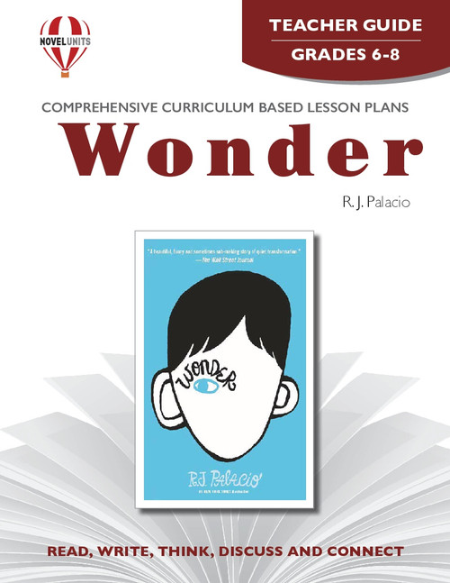 Wonder Novel Unit Teacher Guide (PDF)