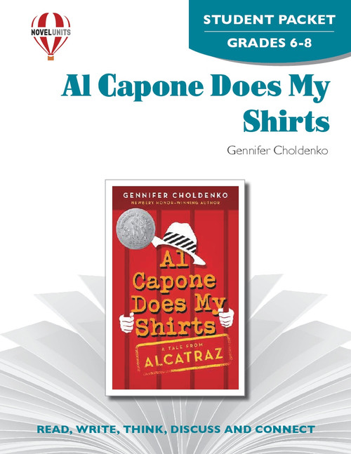Al Capone Does My Shirts Novel Unit Student Packet
