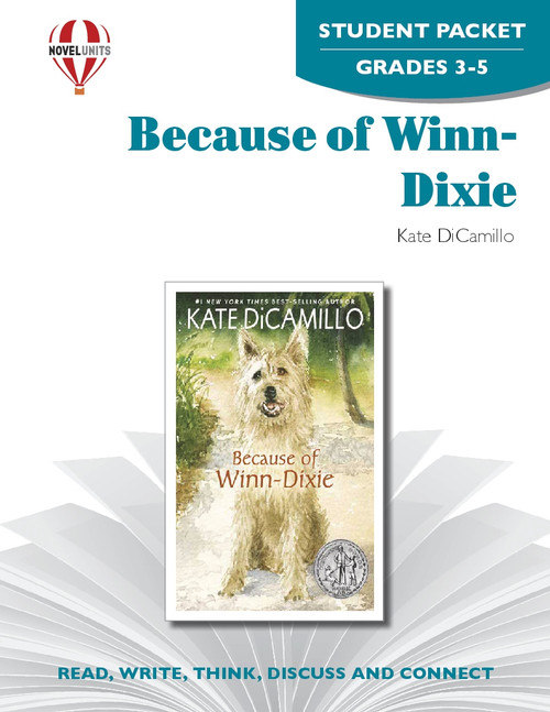 Because Of Winn-Dixie Novel Unit Student Packet