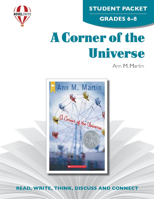 A Corner Of The Universe Novel Unit Student Packet