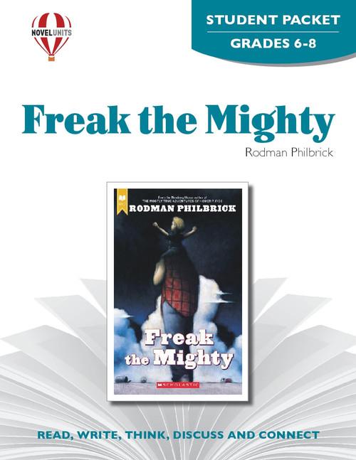 Freak The Mighty Novel Unit Student Packet