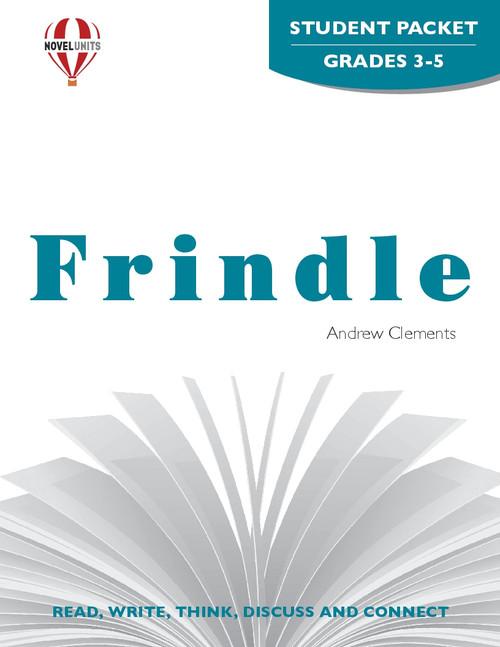 Frindle Novel Unit Student Packet