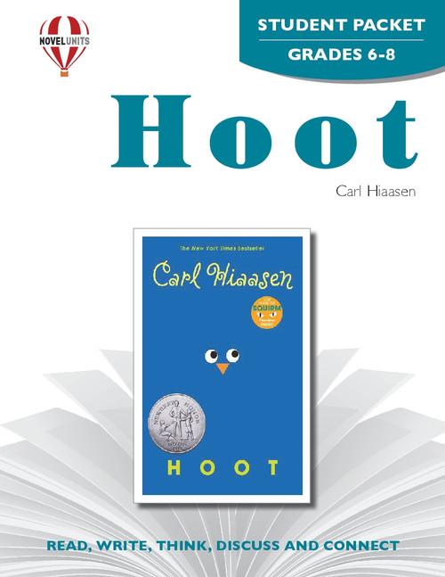 Hoot Novel Unit Student Packet