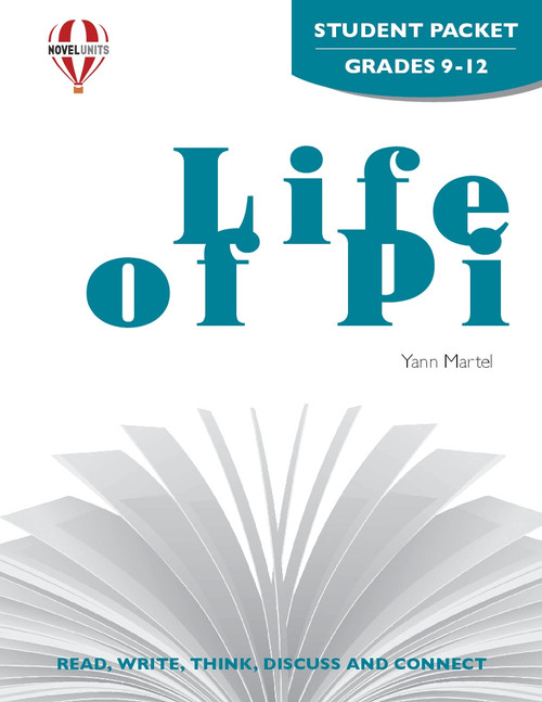 Life Of Pi Novel Unit Student Packet