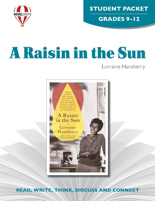 A Raisin In The Sun Novel Unit Student Packet