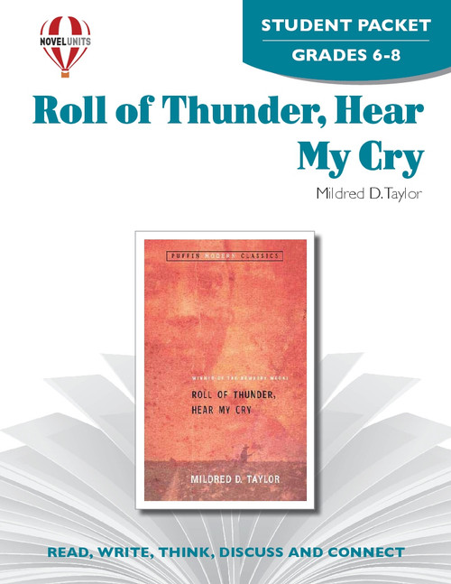 Roll Of Thunder Hear My Cry Novel Unit Student Packet