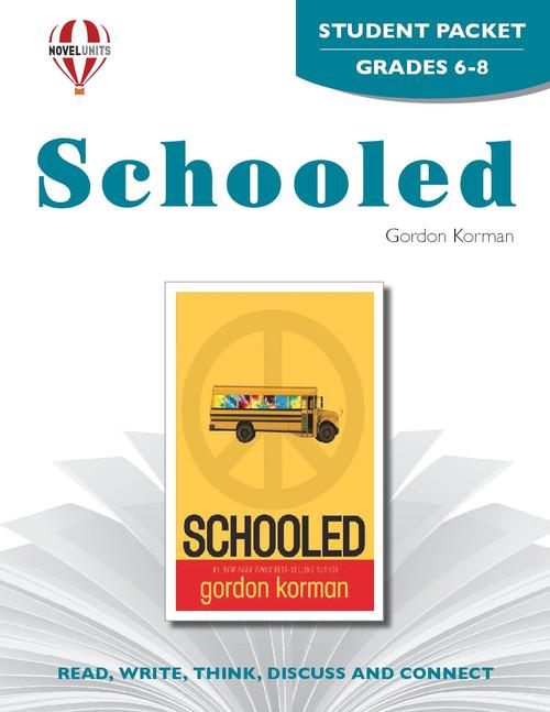 Schooled Novel Unit Student Packet