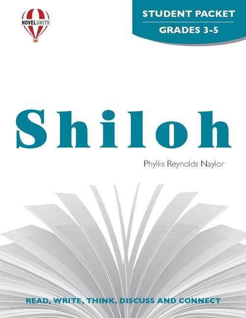 Shiloh Novel Unit Student Packet
