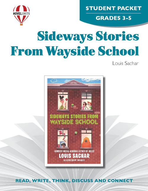 Sideways Stories From Wayside School Novel Unit Student Packet