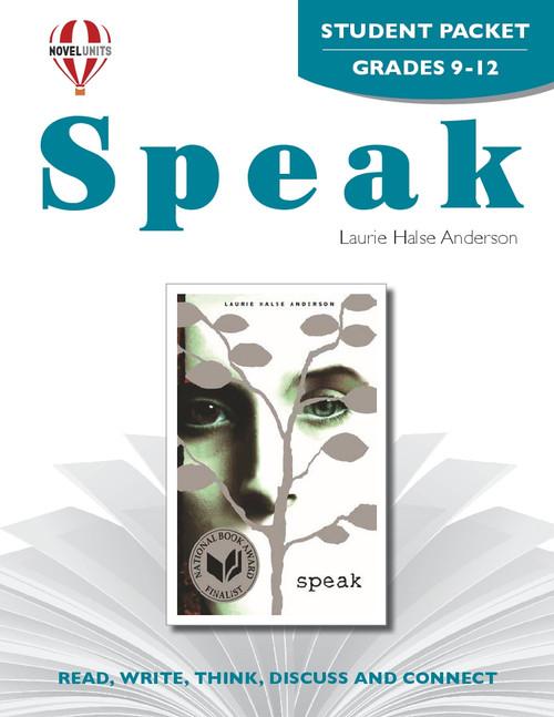 Speak Novel Unit Student Packet