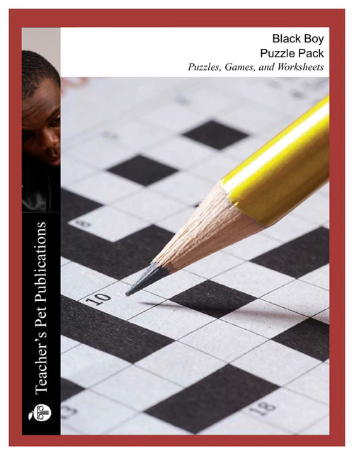 Black Boy Puzzles, Worksheets, Games | Puzzle Pack