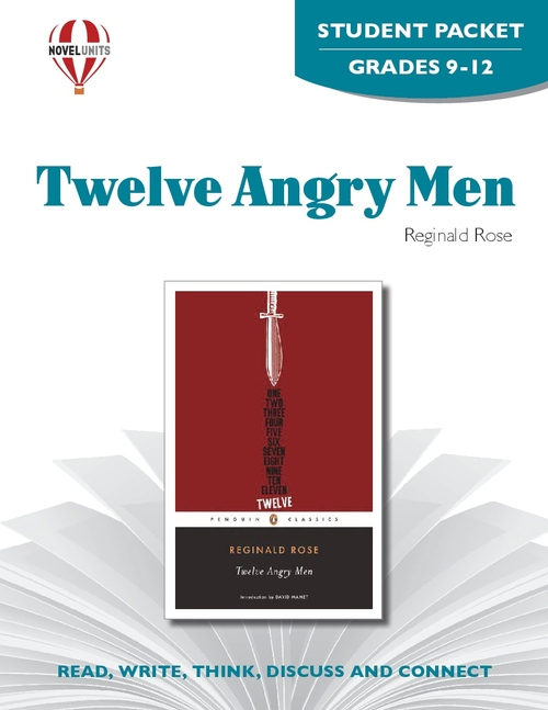 Twelve Angry Men Novel Unit Student Packet