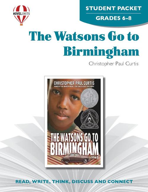 The Watsons Go To Birmingham--1963 Novel Unit Student Packet